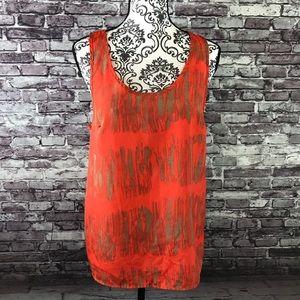 Women's summer sleeveless size M blouse